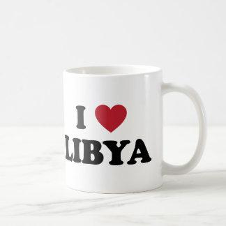 Caneca De Café Eu amo Líbia