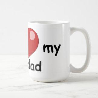 Caneca De Café Eu amo meu grandad