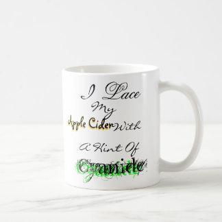 Caneca De Café Eu ato minha sidra de maçã…
