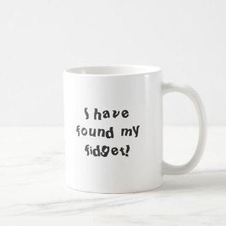Caneca De Café Eu encontrei minha inquietação!