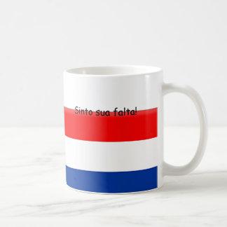 Caneca De Café Eu falto-o Holland Brasil