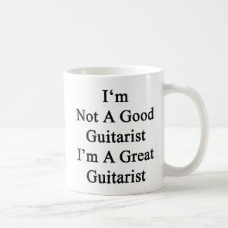 Caneca De Café Eu não sou um bom guitarrista que eu sou um grande