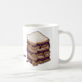 Caneca De Café Eu preferencialmente estaria comendo PB&J