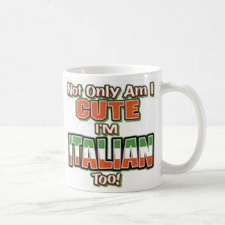 Caneca De Café Eu sou italiano demasiado!!!