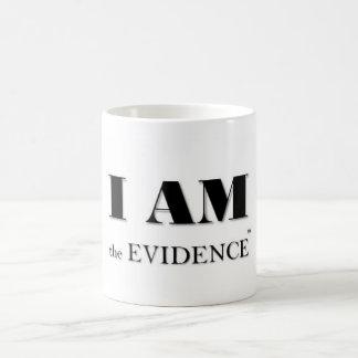 Caneca De Café Eu sou o copo da evidência (TM)