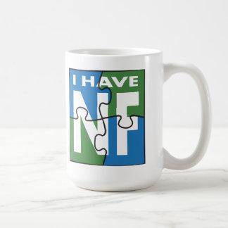 Caneca De Café Eu tenho o N-F