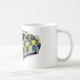 Caneca De Café evo do lanceiro de mitsubishi da polícia