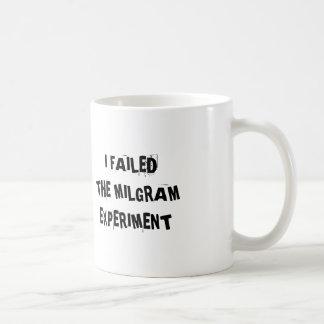 Caneca De Café Experiência de Milgram
