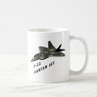 Caneca De Café F-22 avião de combate, raptor