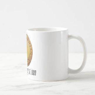 Caneca De Café Faça o dia diário do Pi (matemática Pi/humor da