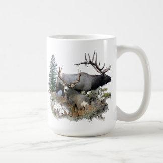 Caneca De Café Fanfarrão do troféu do touro do monstro