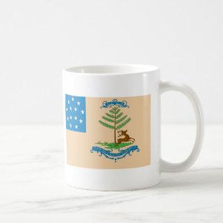 Caneca De Café Fanfarrões da bandeira de América