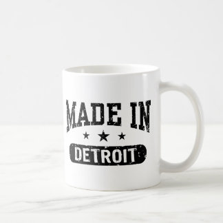 Caneca De Café Feito em Detroit