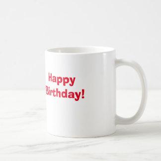 Caneca De Café Feliz aniversario!