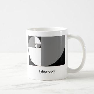 Caneca De Café fibonacci_sinistrogira, Fibonacci