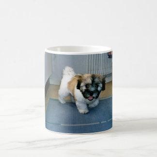 Caneca De Café filhote de cachorro 2.png do algodão