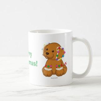 Caneca De Café Filhote de cachorro do pão-de-espécie
