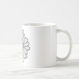Caneca De Café Flor da margarida