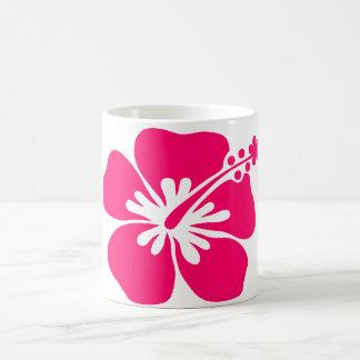 Caneca De Café flor do rosa aloha