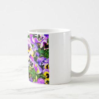 Caneca De Café flores do amor perfeito