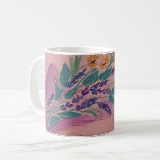 Caneca De Café flores selvagens