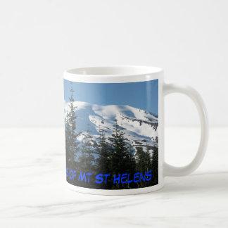 Caneca De Café Fogo e gelo - as duas caras de Mt St Helens