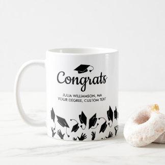 Caneca De Café Formando de Congrats do presente da graduação do