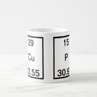 Caneca De Café Fósforo de cobre (copo)