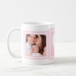 Caneca De Café Fotos e coração do bebé 2