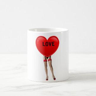 CANECA DE CAFÉ FUNNY LOVE
