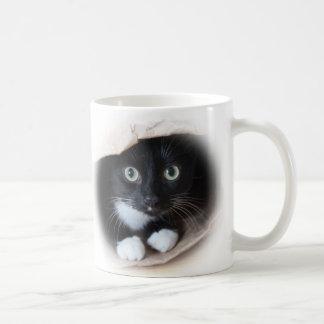 Caneca De Café Gato em um saco
