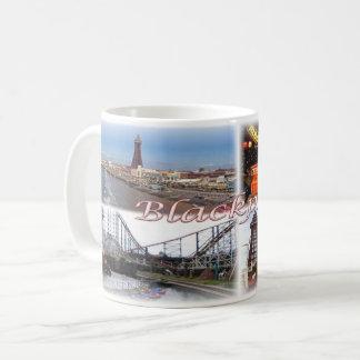 Caneca De Café GB Inglaterra - Blackpool -