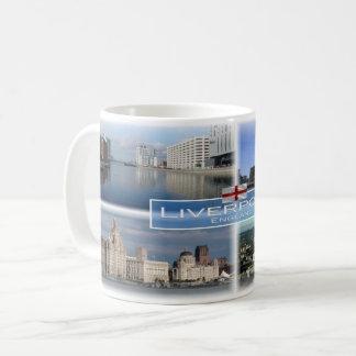 Caneca De Café GB Inglaterra - Liverpool -