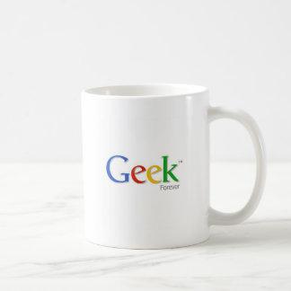 Caneca De Café Geek para sempre