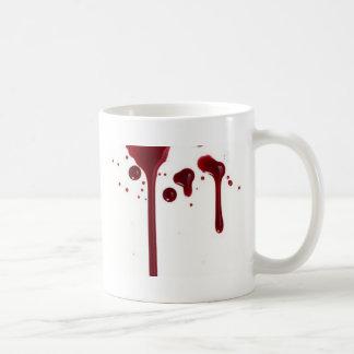 Caneca De Café gotejamento do sangue
