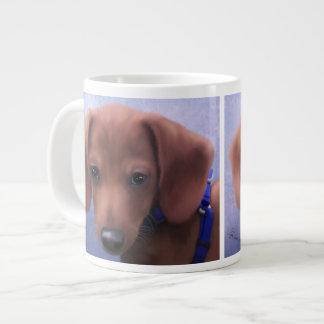 Caneca De Café Grande Copo de café do filhote de cachorro da sobrecarga