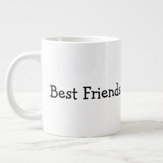 Caneca De Café Grande Melhores amigos