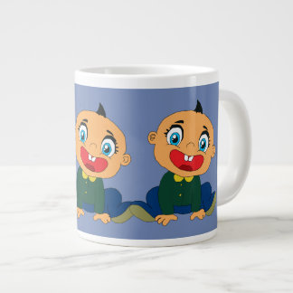 Caneca De Café Grande menino do riso