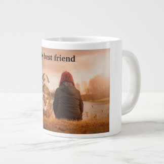 Caneca De Café Grande Meu melhor amigo