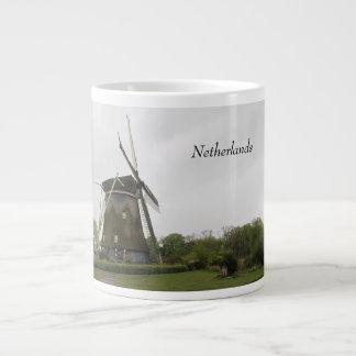 Caneca De Café Grande Moinho de vento, Holland, Países Baixos,