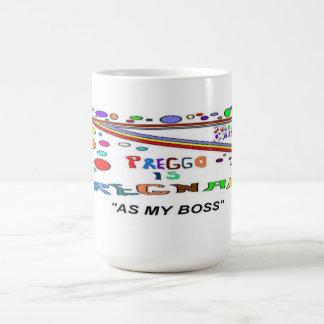 Caneca De Café Grávido como meu chefe