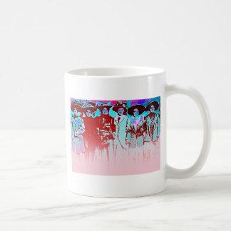 Caneca De Café Greve das mulheres da fábrica