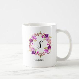 Caneca De Café Grinalda das flores para todas as ocasiões