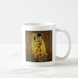 Caneca De Café Gustavo Klimt o beijo
