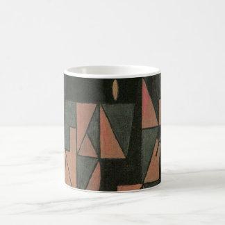 Caneca De Café Harlequin por Juan Gris, arte do Cubism do vintage