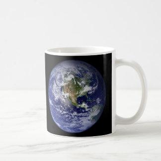Caneca De Café Hemisférios ocidentais & orientais da terra -