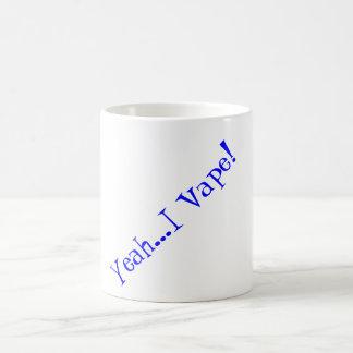 Caneca De Café Hmmmm. Café com seu vape da manhã!