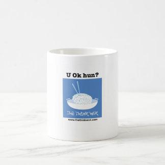 Caneca De Café Huno aprovado de U?