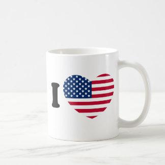 CANECA DE CAFÉ I LOVE USA