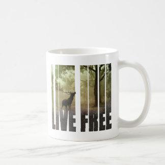 Caneca De Café Impressão da foto dos cervos